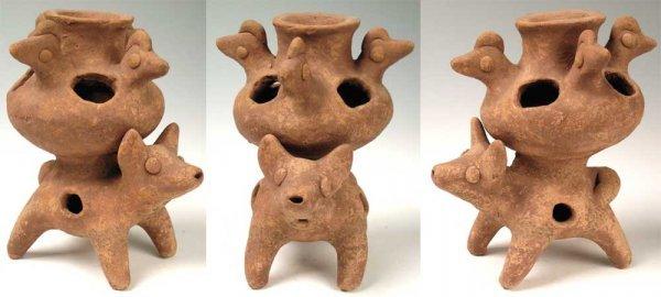 2322: Mexico, Colima, c. 200 BC – 300 AD.  A very rare