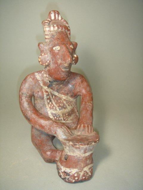"""2324: Mexico, Nayarit, c. 250BC-250AD., a seated """"sheep"""