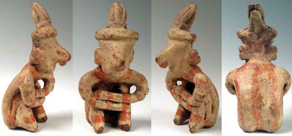 2326: Mexico, Nayarit, c. 250 BC - 250 AD.  This fine s