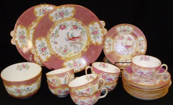 2: Mintons Harrod's Oriental Decorated Plate Cup Group