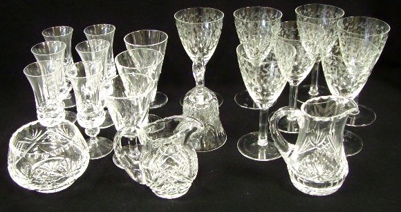 9: Waterford and Other Crystal Group