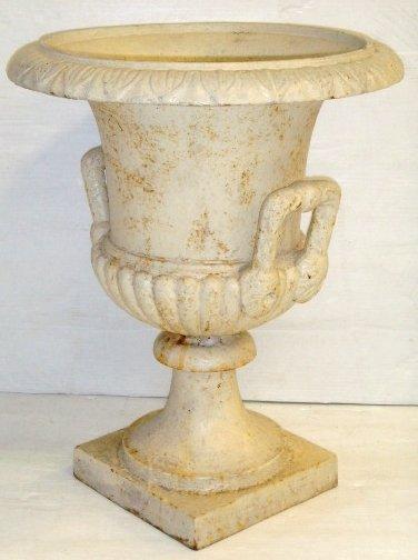 12: Classical Iron Garden Urn