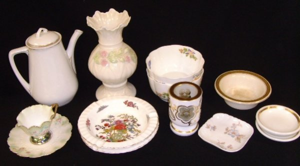 18: R.S. Prussia Belleek English and other Porcelain