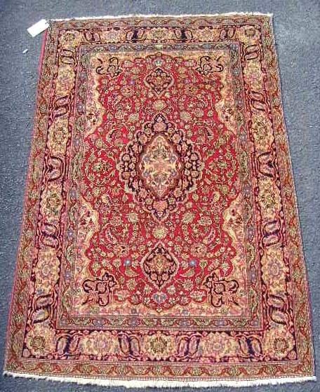 126: Handmade Persian Rug