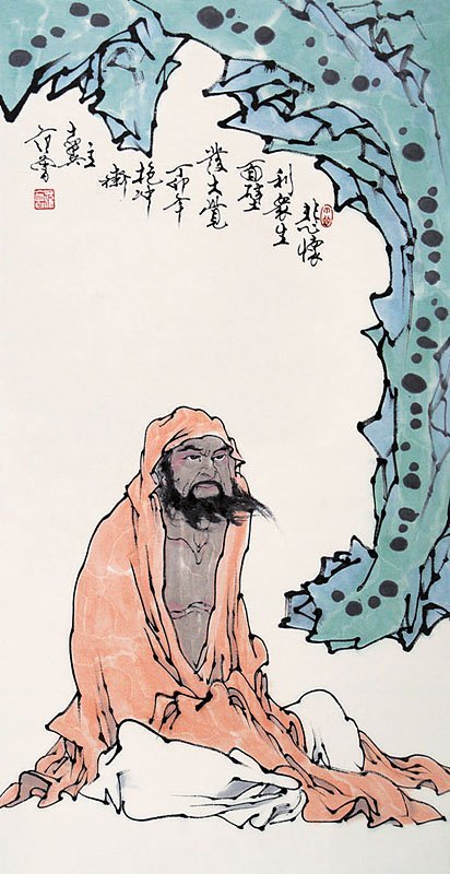 19:  Chinese painting by famous Chinese artist - Fan Ze