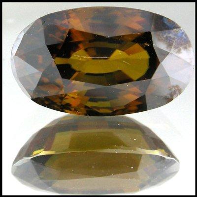 7: 6.97CTS GLITTERING NAUTRAL HUGE GOLDEN YELLOW SPHENE
