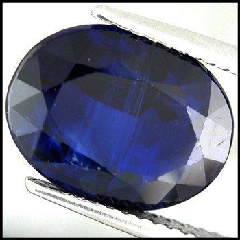23: 5.79CTS HUGE KASHMIR BLUE HUE NEPAL KYANITE