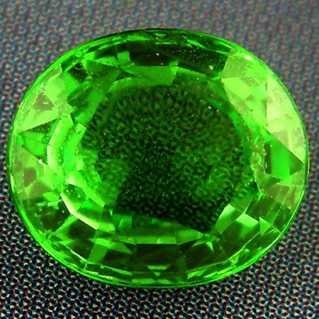 609: 1.22CTS~CLASSIC LUSTER CHROME GREEN GARNET~IF