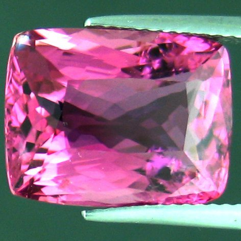 301: 9.61cts~Huge Exoctic Intense Pink Tourmaline Hue~