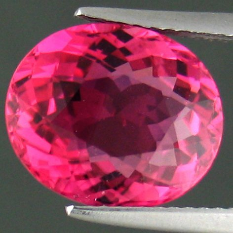 303: SHIMMERING HOT 5.05CTS PINK TOURMALINE HUE~IF