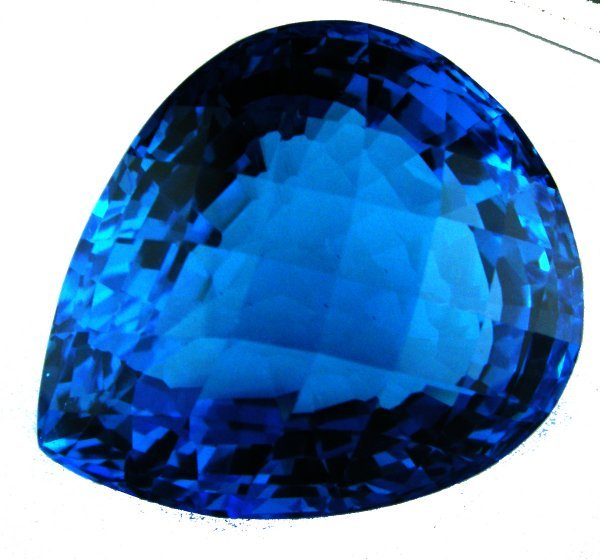 312: MUSEUM GRADE~AAA~54.10CTS LONDON BLUE TOPAZ