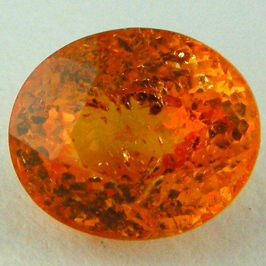 1857: 2.06 CTS Classic Top Brilliance Orange Spessartit