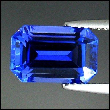 908: 4.33cts~Natural AAA+Dblock Blue Tanzanite~If