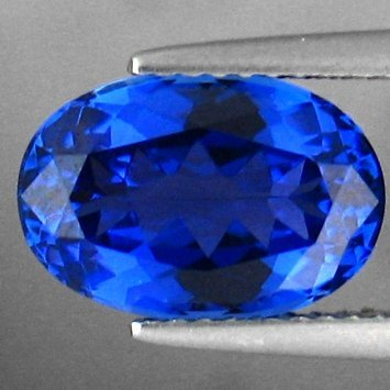 1040: 3.84cts~Natural   Blue Tanzanite~If