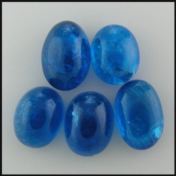 36: 6.90CTS~ NATURAL  OVAL APATITE CAB