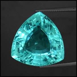 630: 36.44ct~Certified Neon Blue Paraiba Tourmaline~Fla