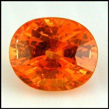 11: 2.42cts~Fanta Orange 100%clean Spessartite Garnet
