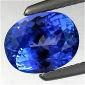 2292: 3.14cts~Natural AAA+Dblock Blue Tanzanite~If