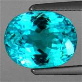 "2308: 10.52CTS~ GIA CERTICABLE "" 100% NATURAL PARAIBA T"