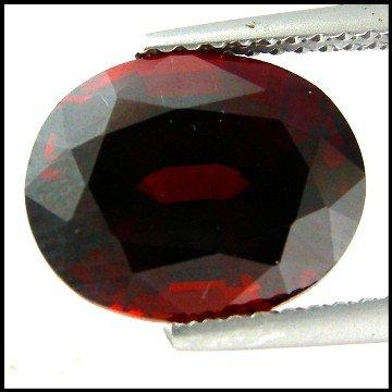47: 5.39Cts~  Pyrope Garnet Gemstone Natural