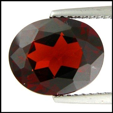 48: 3.98Cts~  Pyrope Garnet Gemstone Natural