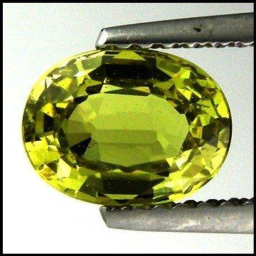 59: 1.51cts~Ultra Rare Green Grossular Garnet