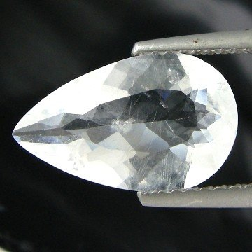 65: 2.67cts~Wow Pure White Diamond Like Pollucite