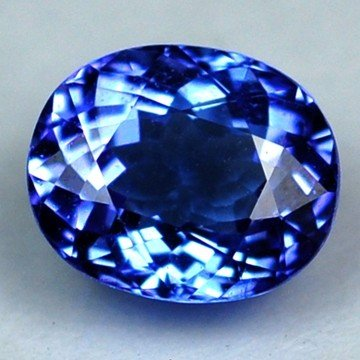 3094: 2.12cts~Natural AAA+Dblock Blue Tanzanite~If