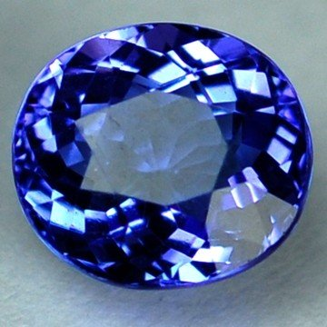 3103: 2.53cts~Natural AAA+Dblock Blue Tanzanite~If