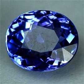 3114: 2.08cts~Natural AAA+Dblock Blue Tanzanite