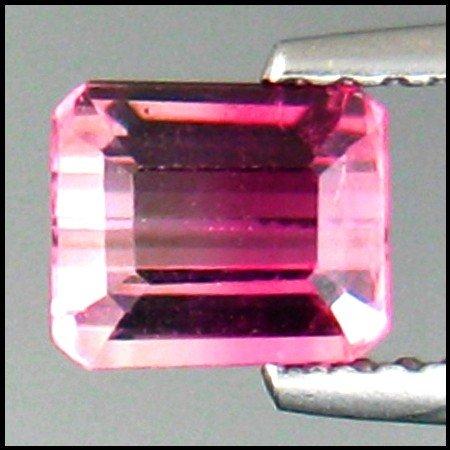 107: 0.98cts~ Bicolor tourmaline ~ Flawless