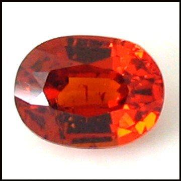 111: 1.38cts~Fanta Orange 100%clean Spessartite Garnet
