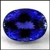 2163: 7.83cts~Natural AAA+ D block Blue Tanzanite~If