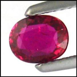 2968: 1.11Cts~GIA CERTIFIED UNHEATED NATURAL RUBY ~VVS3