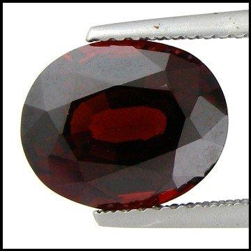 1: 5.23 Cts~  Pyrope Garnet Gemstone Natural