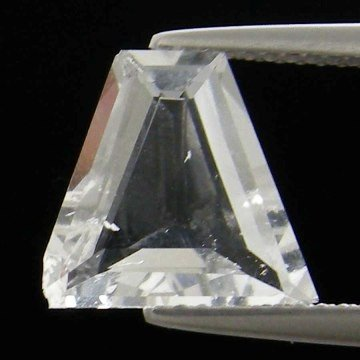 144: 2.98cts~Wow Pure White Diamond Like Pollucite