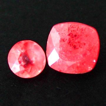 118: 1.16cts~Ultra Rare natural Rose Pink Rhodochrosite