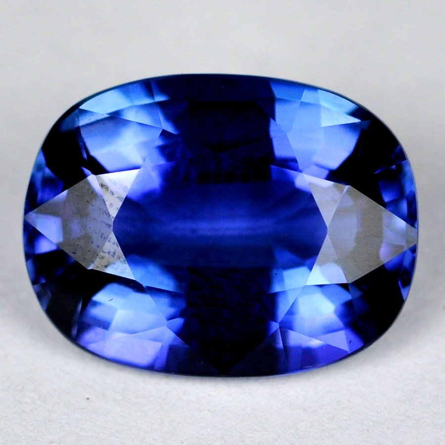 7894: 10.79 cts~UNHEAT Natural Tanzanite-flowless