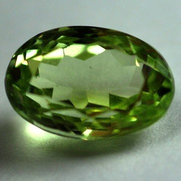 2506: 3.26Cts ~NATURAL GREEN SILIMINATE ~Flawless