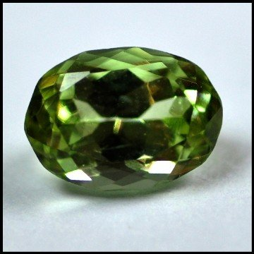 2513: 2.31Cts ~NATURAL GREEN SILIMINATE ~Flawless