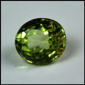 2534: 2.20Cts ~NATURAL GREEN SILIMINATE ~Flawless