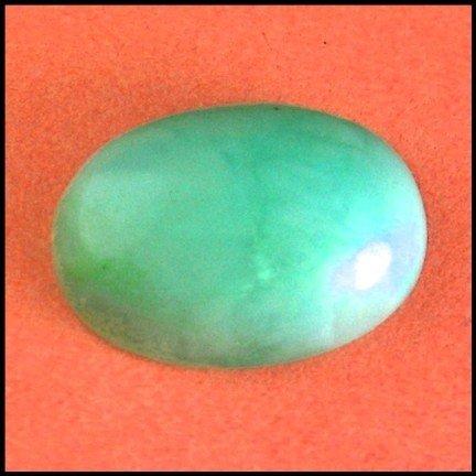 2549: 11.38Cts~Natural Green  opal