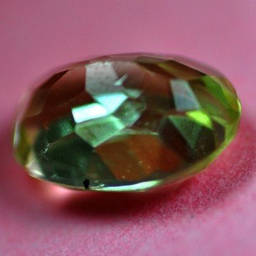 2553: 2.81Cts ~NATURAL GREEN SILIMINATE ~Flawless