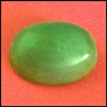 2562: 14.63Cts~Natural Green  opal