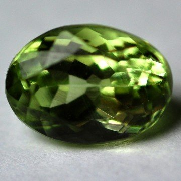 2580: 2.45Cts ~NATURAL GREEN SILIMINATE ~Flawless