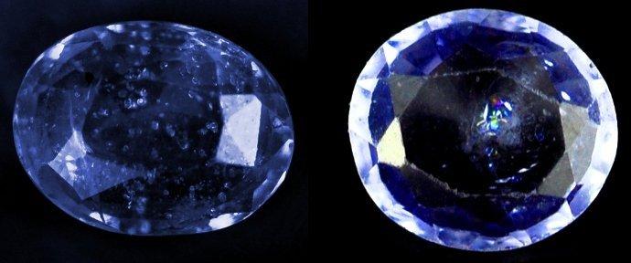 7304: 3.15 cts~Natural UNHEAT SAPPHIRE  blue