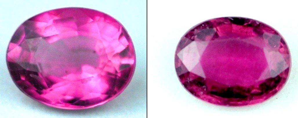 7309: .91  cts~ Natural hot  pink Tourmaline