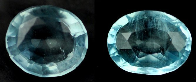 7311: .99 Rare Natural acuamarine from Brazil ~