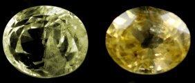1.97 Cts~Natural UNHEAT SAPPHIRE  Yellow