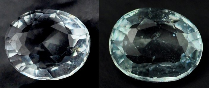 7319: 1.94  Rare Natural acuamarine from Brazil ~